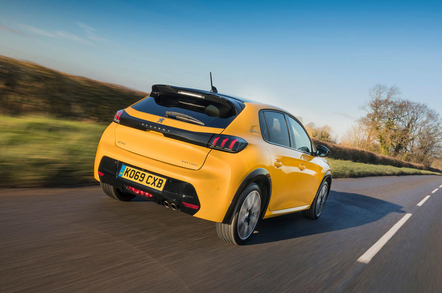 All New Peugeot 208 Review Rear