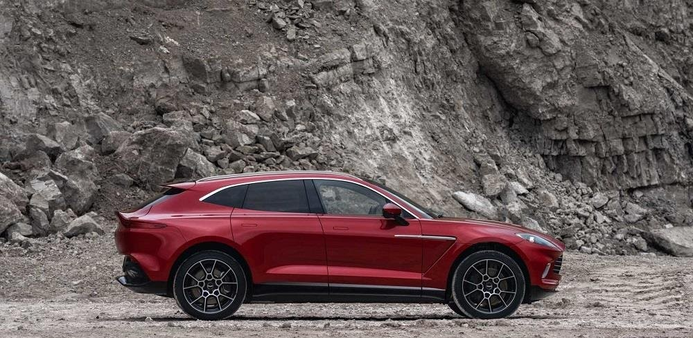 Aston Martin DBX 2020 Review Premium Sporty SUV Side