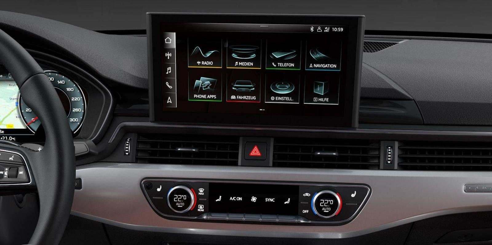 Audi A4 Review Entertainment Features