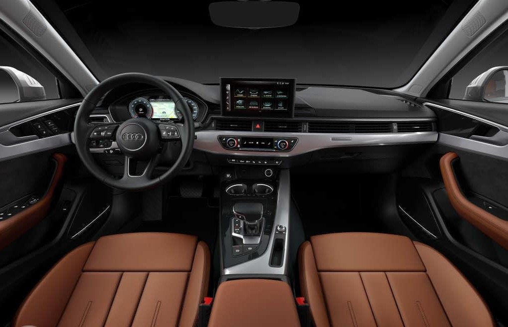 Audi A4 Review Steering and Dashboard