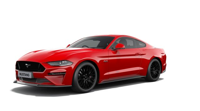 Ford Mustang GT V8 FrontView