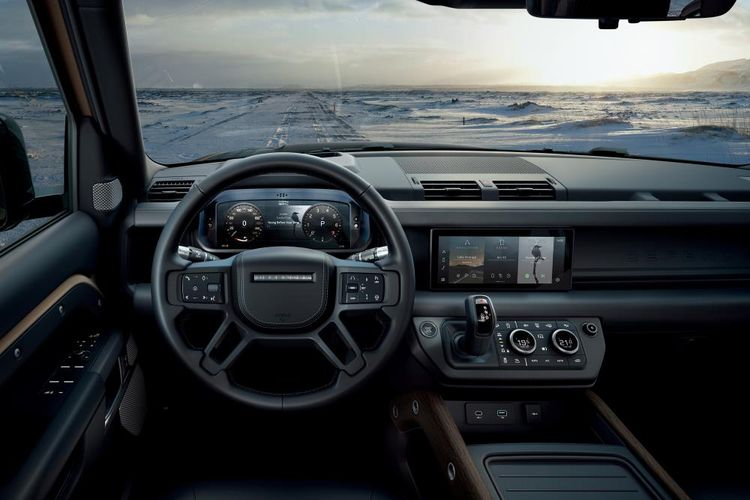 Land Rover Defender 2020 Review Cabin
